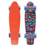 "Лонгборд Penny Board Original 22"" SS15 Fresh Print Spike Orange"
