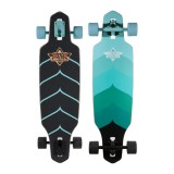"Лонгборд Dusters 16 Wake Drop-Through Longboard Turquoise 34"" SS16"