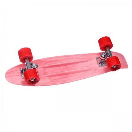 Скейт мини круизер Union Plast Board Smoke Red 22.5 (57.2 см)