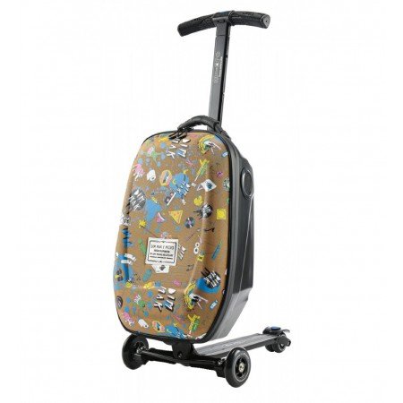 Самокат-чемодан Micro Luggage Steve Aoki Sound2go