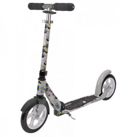 Самокат Micro Scooter White Floral Grey